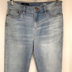 NWT J Crew The Lookout High Rise Crop Skinny 30